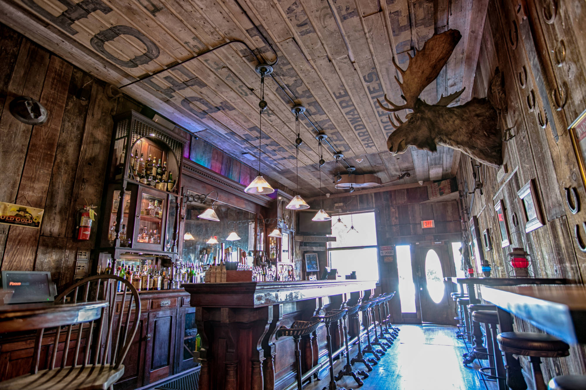 1880 Saloon - Sid the Moose